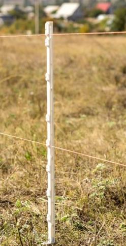 Пластикові стовпчики для електрозагорожі