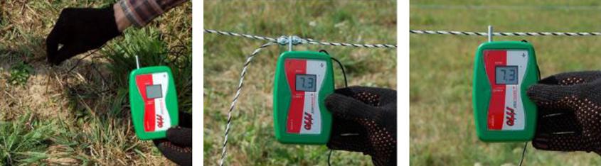 Измерение напряжения в электроизгороди