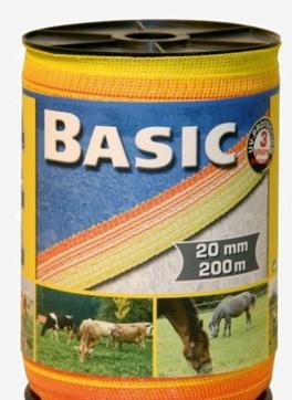 Тесьма BASIC под эектропастух для лошадей